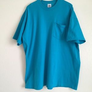 2 Vintage 3XL Reinforced Pocket Shirts